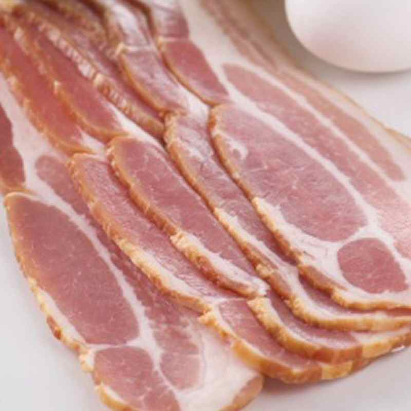 Streaky Bacon UnSmoked  250g pack