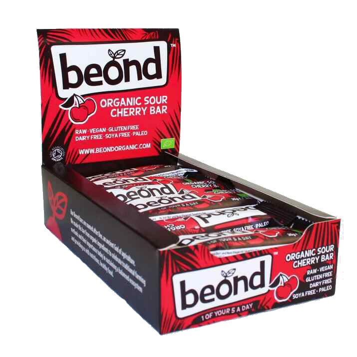 Beond Sour Cherry Bar 35g