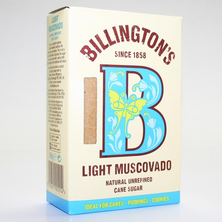 Billingtons Light Muscovado Sugar 500g non organic