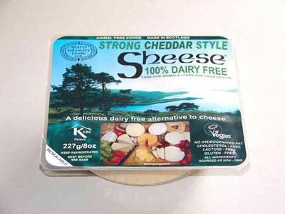 Bute Island Strong Cheddar Style melty 227g - Non Dairy/Non organic