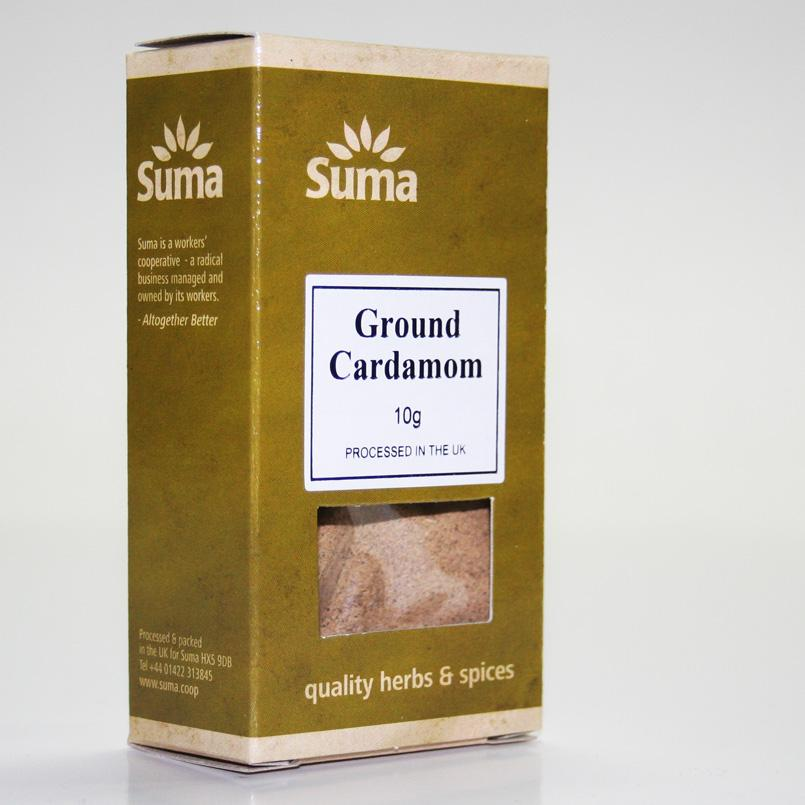 Cardamon Ground 30g non organic