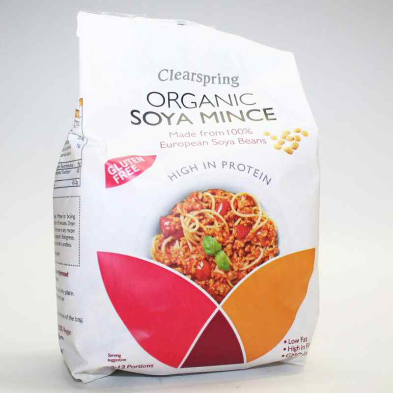 Clearspring Organic Soy Mince  300g Bag