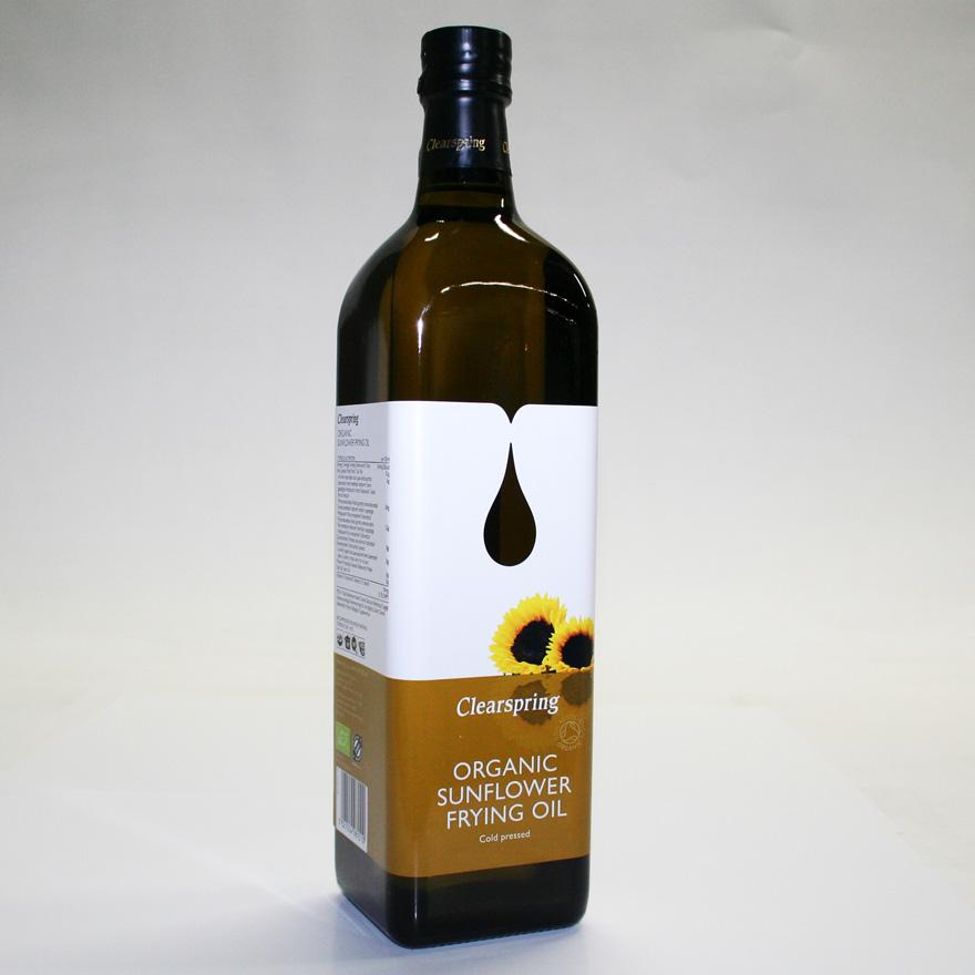 Clearspring Sunflower Frying Oil 1 Litre