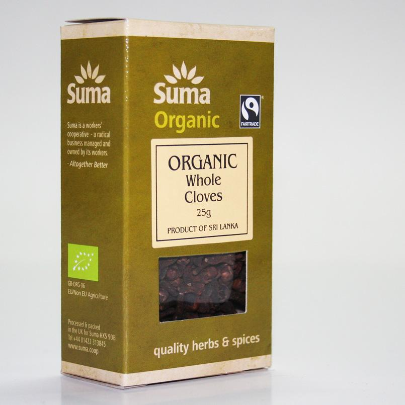 Cloves Whole 25g
