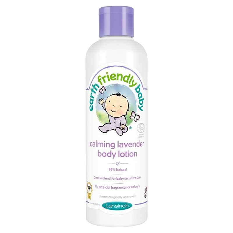 Earth Friendly Lavender Baby Lotion 250l