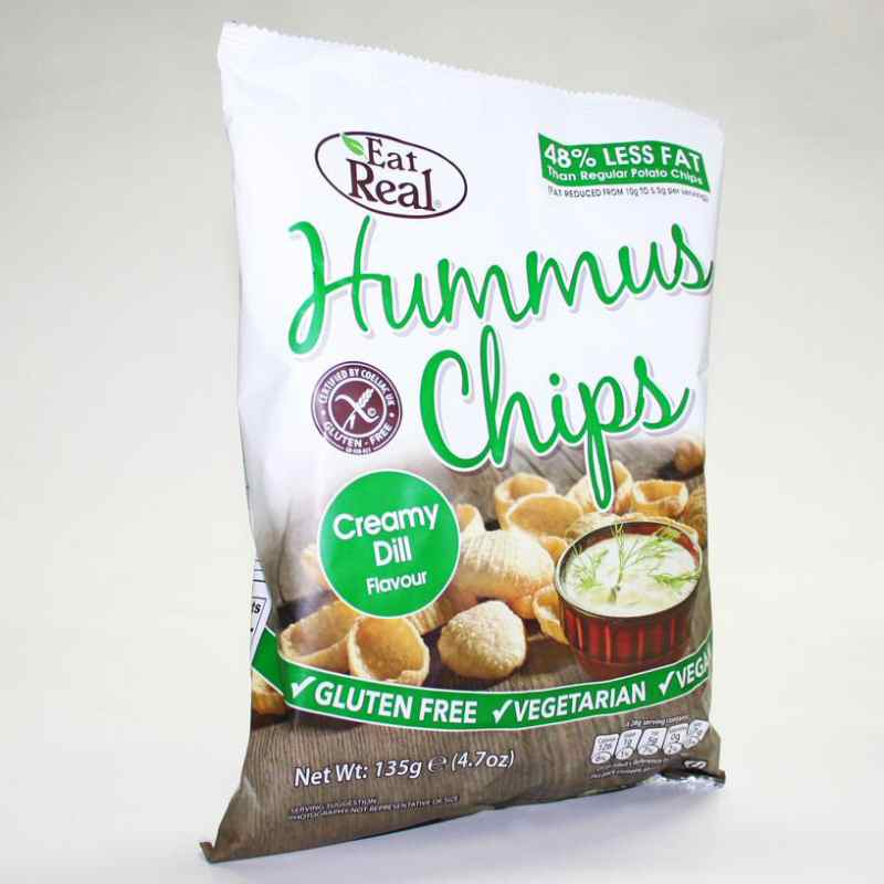 Eat Real Creamy Dill Chips 135g