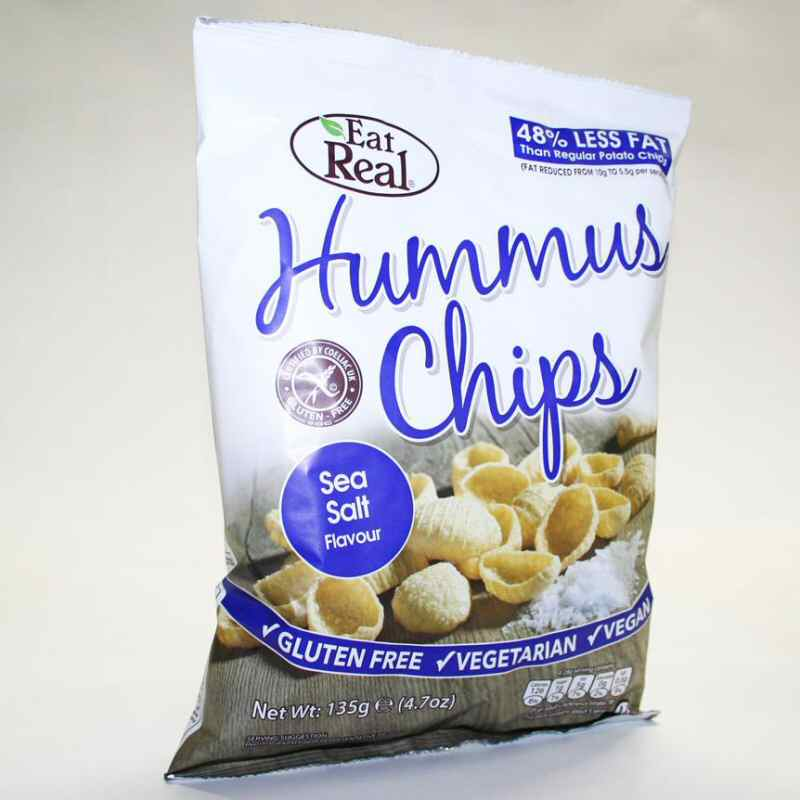 Eat Real Sea Salted Chips 135g