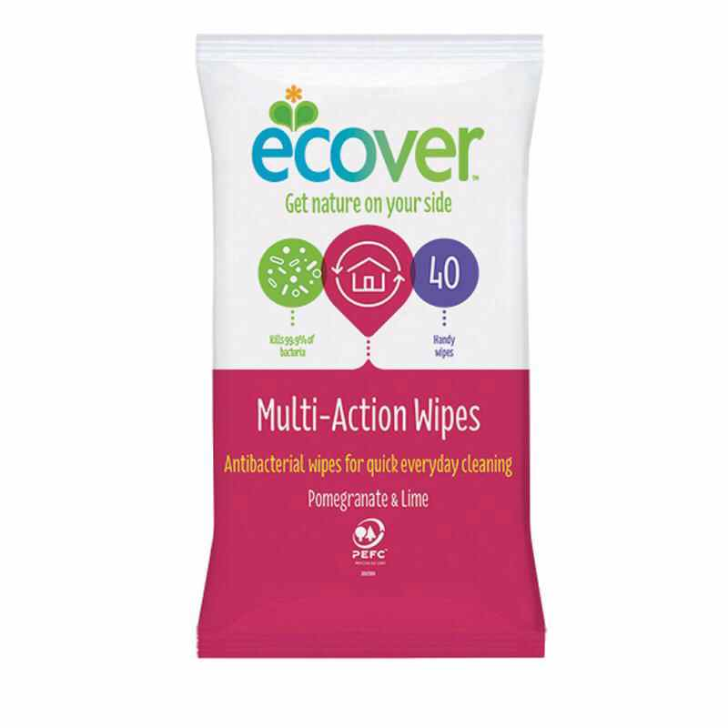 Ecover Multi-Action Wipes x 40