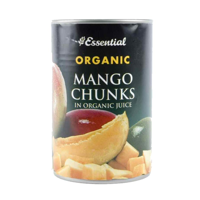 Essential Mango Chunks In Juice 400g Tin