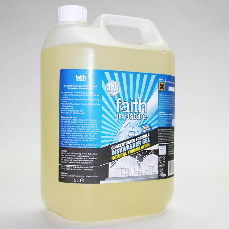 Faith Concentrated Dishwasher Liquid  5L