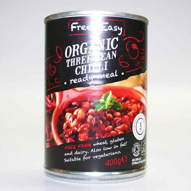 Free & Easy Three Bean Chilli  400g