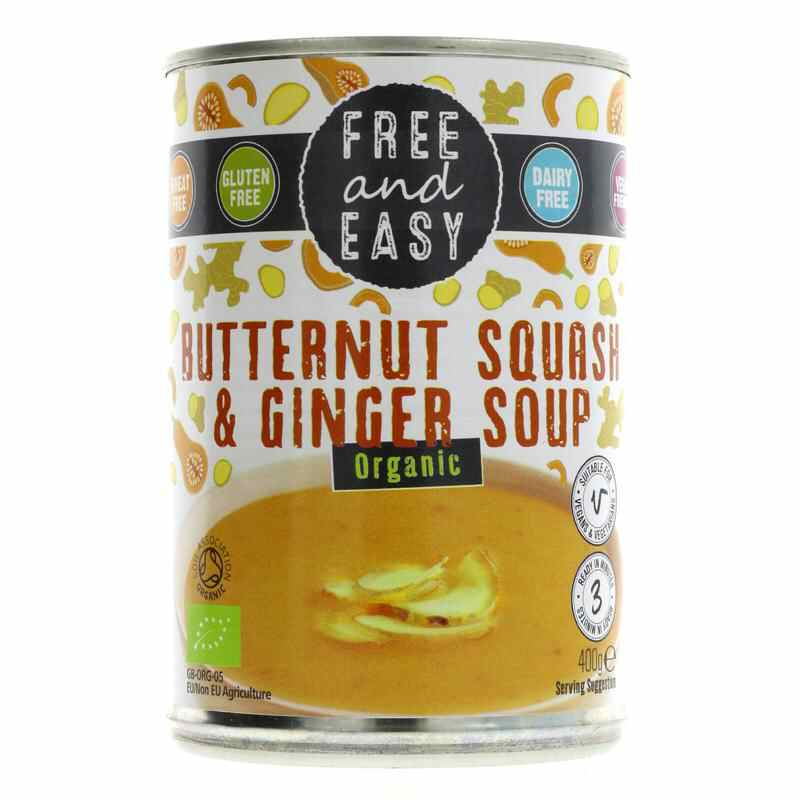 Free & Easy Squash & Ginger Soup 400g
