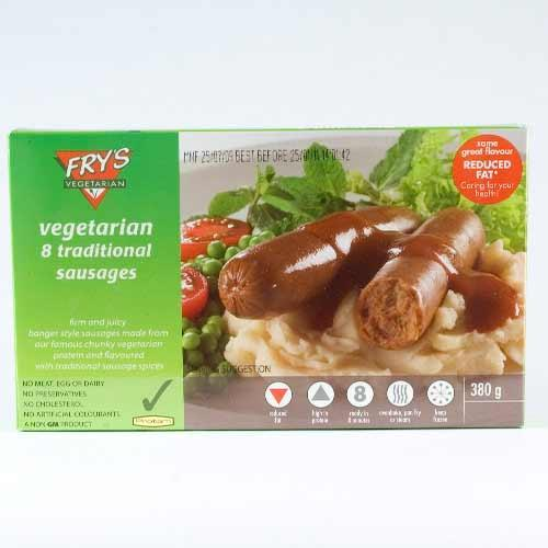 Frys Traditional Vegetarian Sausages (8)  380g