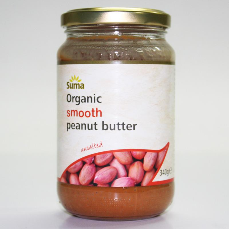 Suma Smooth Peanut Butter No Salt 340g