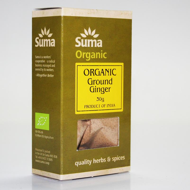 Ginger Ground 30g