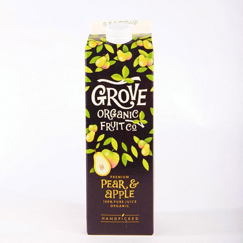Grove Fresh Pear & Apple Juice 1 Litre Chilled