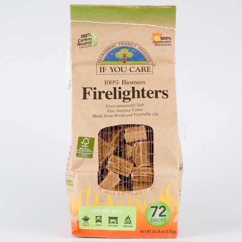 If You Care Firelighters x72 pieces
