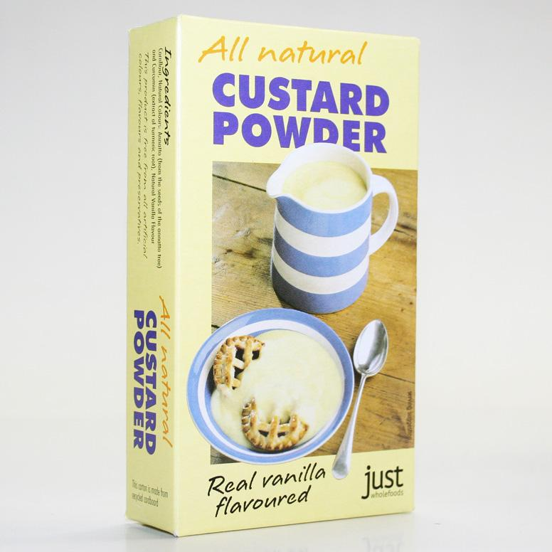 Just Wholefoods Custard Powder 100g Non Org