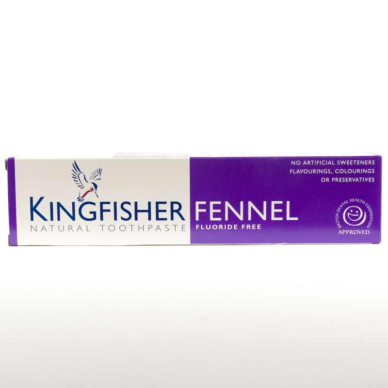 Kingfisher Fennel Toothpaste  Fluoride Free100ml