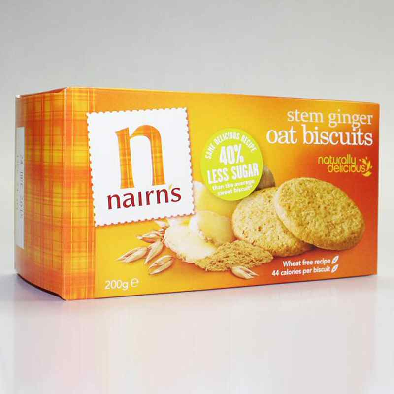 Nairns Ginger Oat Biscuits 200g