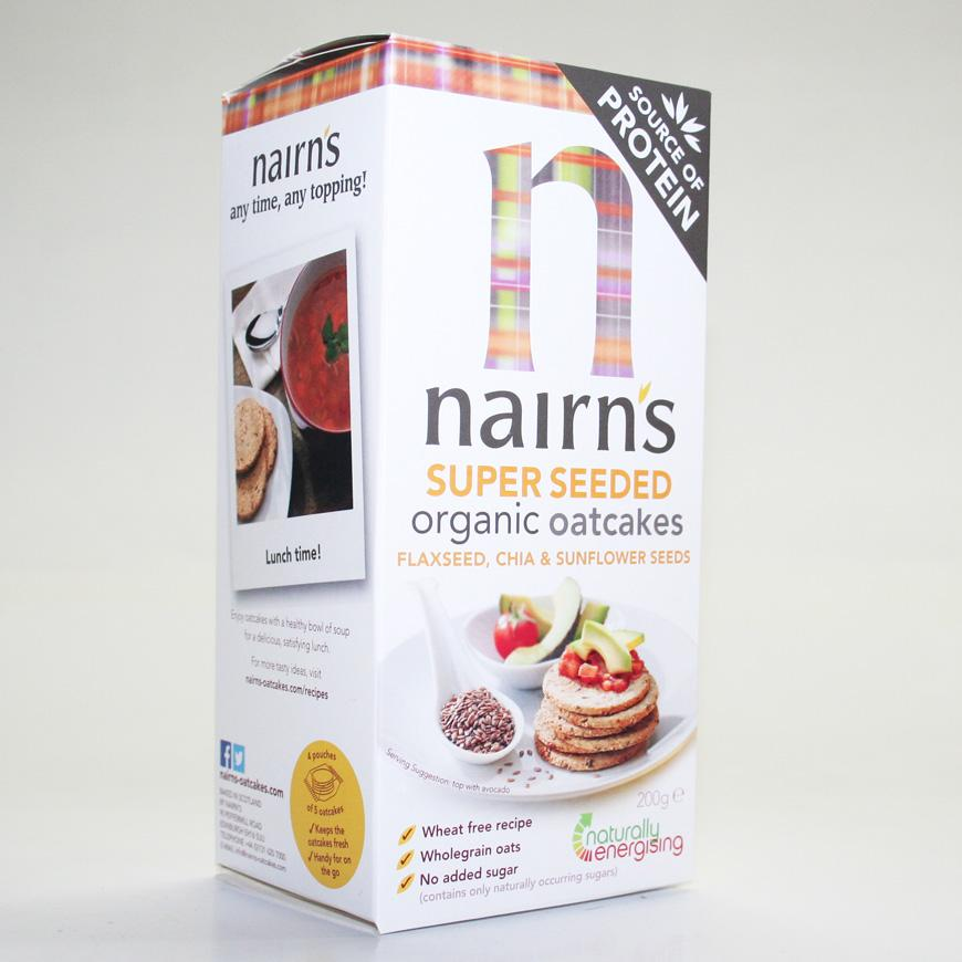 Nairns Super Seded Oatcakes 200g