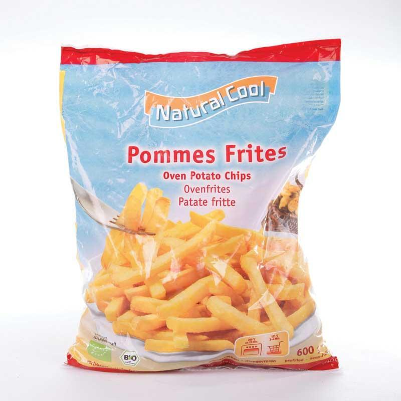 Natural Cool Frozen Chips 600g