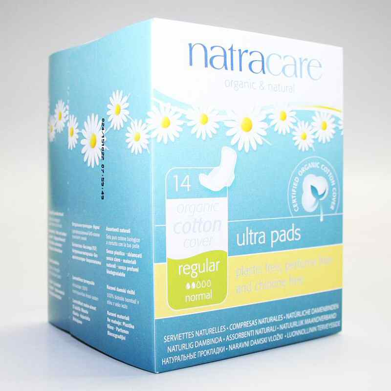 Natracare Ultra Pad With Wings x 14