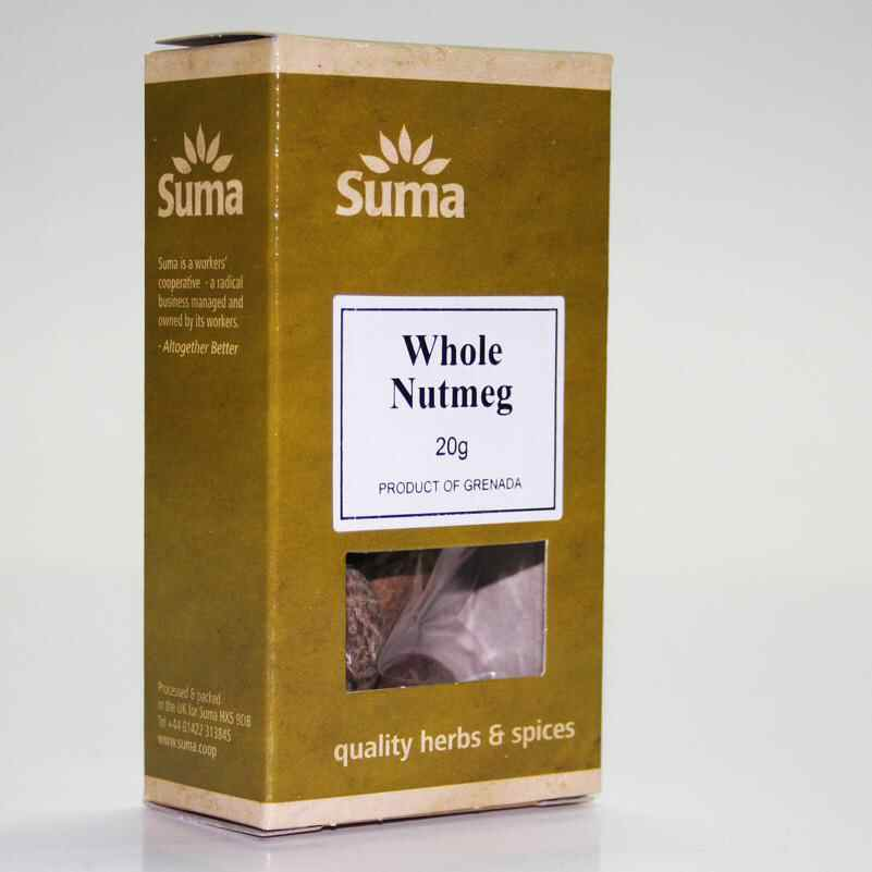 Nutmeg Whole x 6 non organic	20g