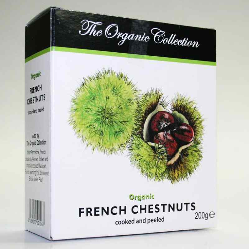 Organic Collection Vac Packed Chestnuts