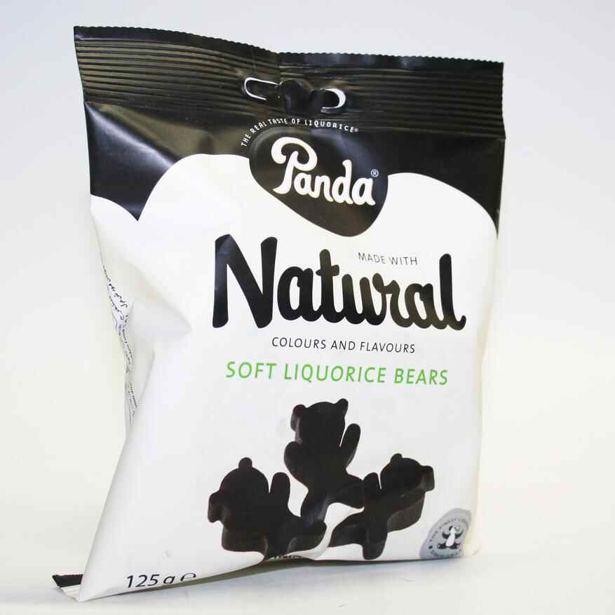 Panda Licorice Bears 125g non organic