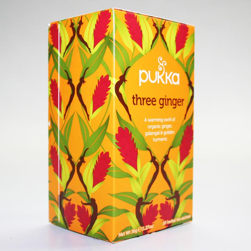 Pukka Three Ginger Tea x 20 bags