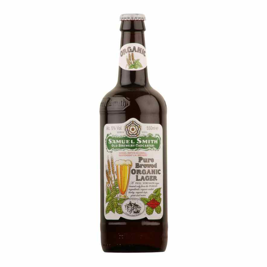 Sam Smith's Pure Brewed Lager 550ml