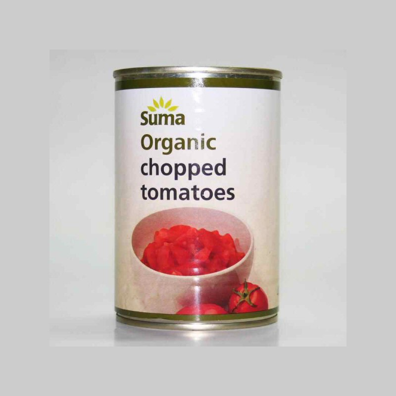 Suma Case Chopped Tomatoes  Case 12x400g