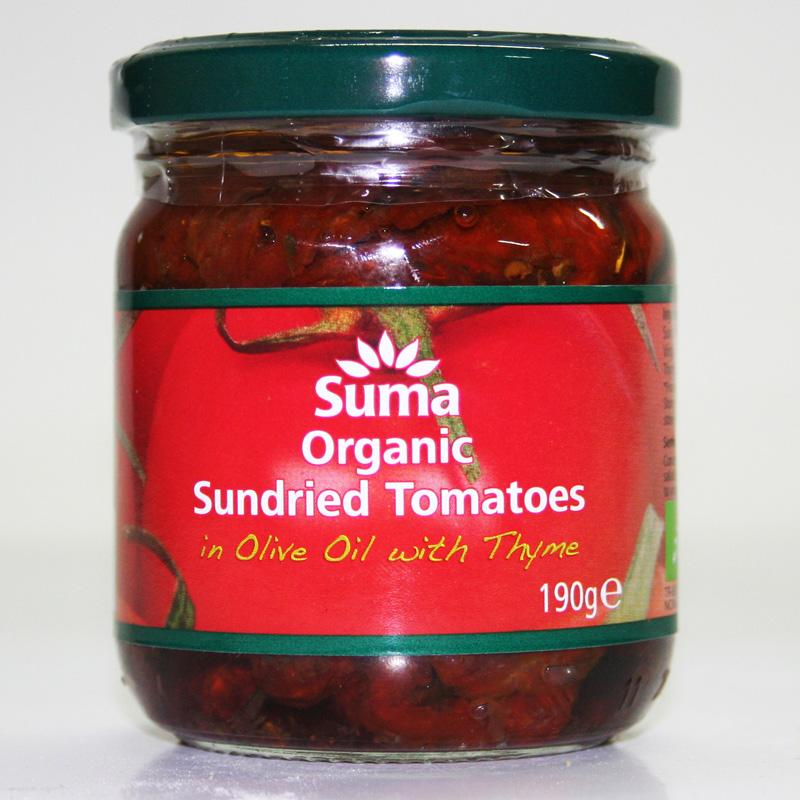 Suma Sundried Tomatoes in Olive Oil with Thyme190g