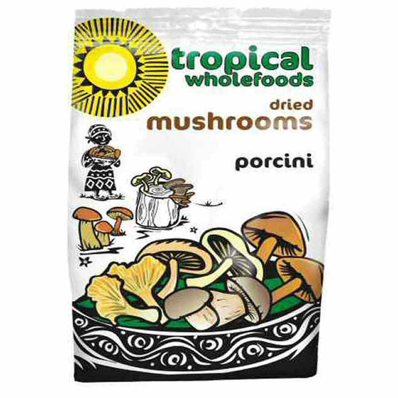 Tropical Wholefoods Dried Porcini Mushrooms 30g