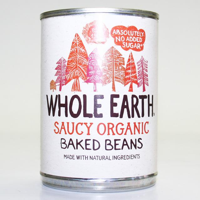 Whole Earth Baked Beans  Case 12 x 400g