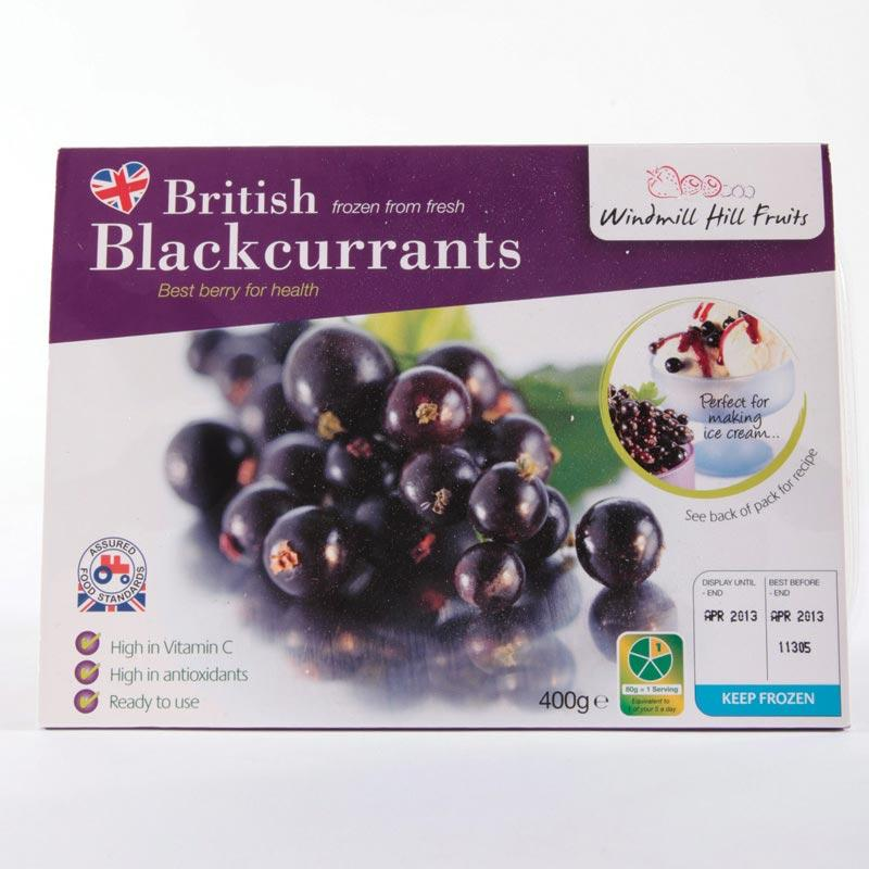 Windmill Hill Blackcurrants 400g