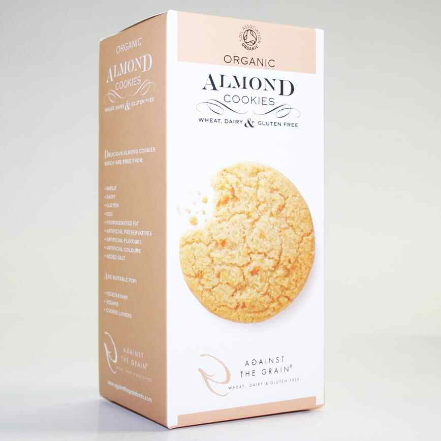 Against The Grain gluten free Almond Cookies  150g vegan