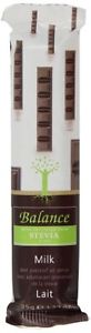 Balance stevia sweetened milk chocolate 35g non org