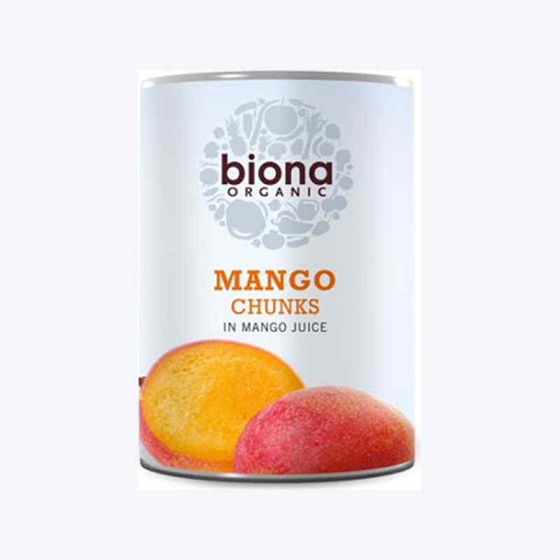 Biona Mango Chunks in Juice 400g