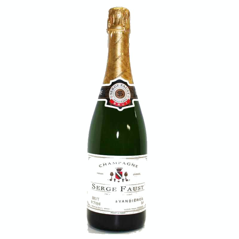 Champagne Carte d'Or Serge Faust  Pre-Order Only