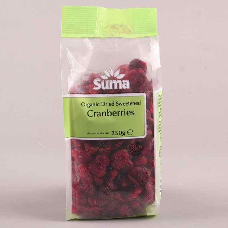 Cranberries Dried in juice 250g