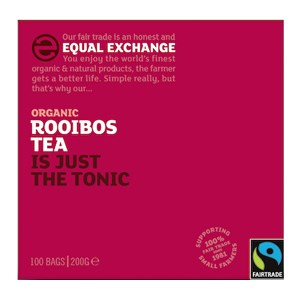 Equal Exchange Rooibos Tea 40 Bags