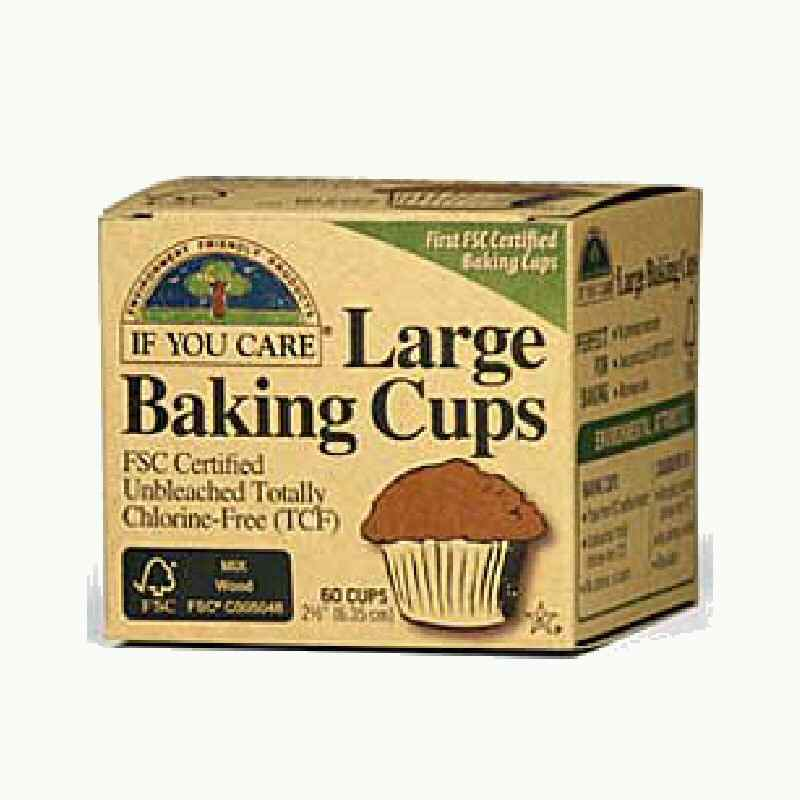 If You Care Baking Cups Large - Unbleached  x60