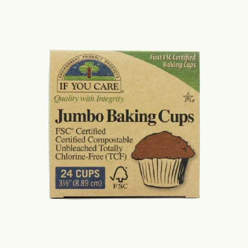 If You Care Baking Cups  Jumbo x 24