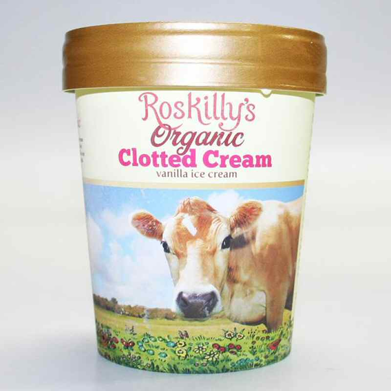 Roskilly vanilla ice cream 500ml