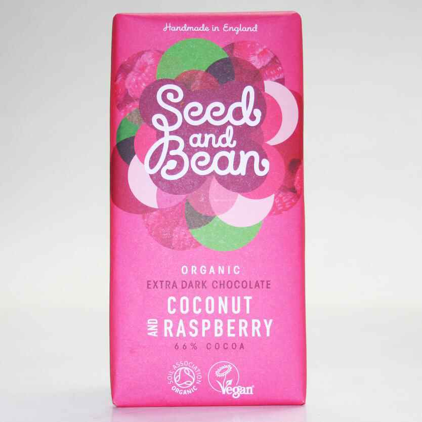 Seed & Bean Raspberry & Coconut  85g