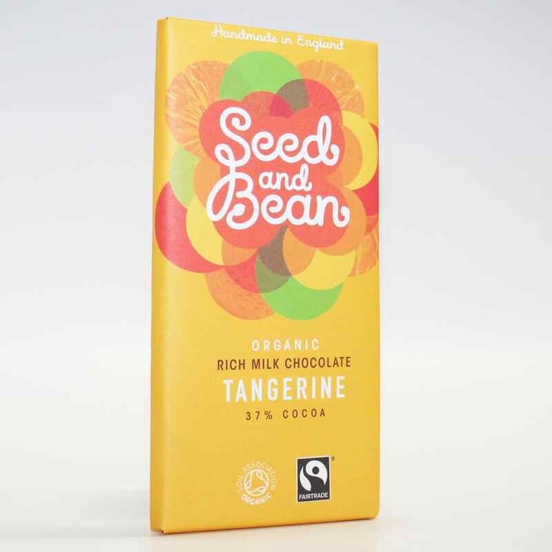 Seed & Bean Milk Chocolate & Tangerine  85g