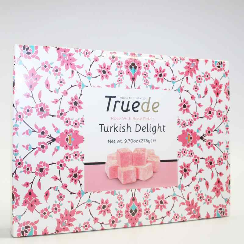 Truede Rose Turkish Delight 275g vegan