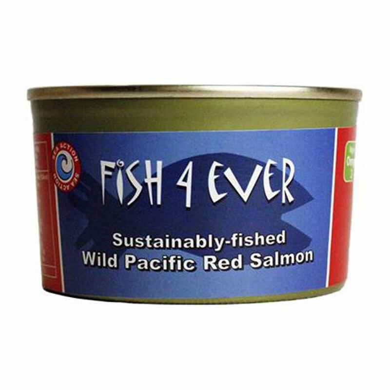 Fish 4 Ever Wild Pacific Red Salmon 213g